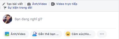Đăng bài facebook - đăng bài trên profile