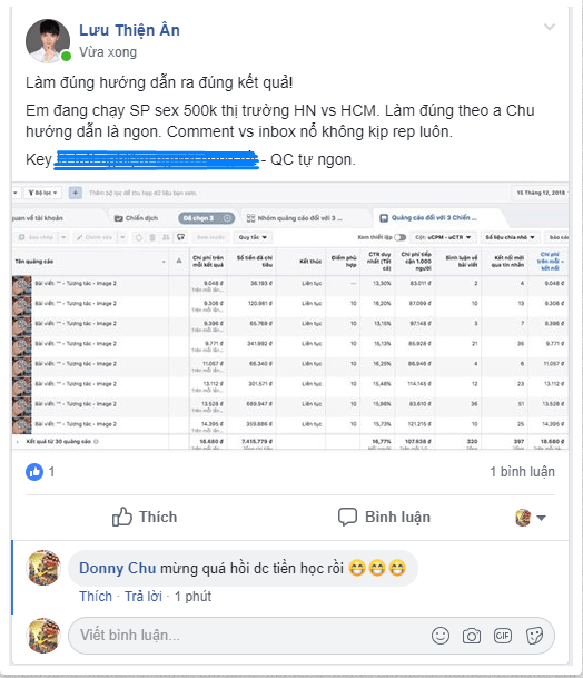 Khoá học quảng cáo facebook ads - FAC