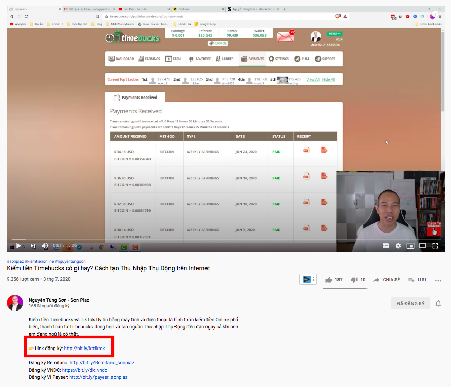 Kiếm tiền với youtube 2020 - Affiliate Marketing