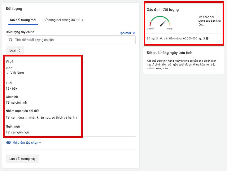 Quảng cáo facebook là gì? Chọn đối tượng quảng cáo