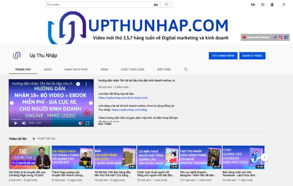 Chiến lược marketing - Làm thương hiệu trên youtube