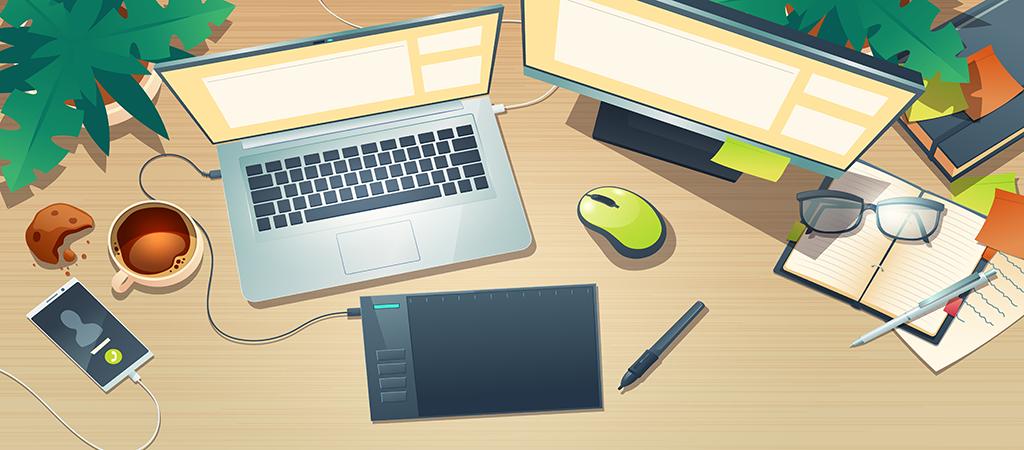 Thiết kế online tại nhà - kiếm tiền với nghề Graphic design - Up thu nhập Blog