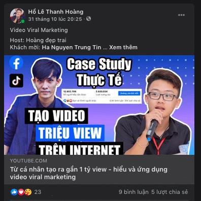 tăng view youtube - đăng facebook