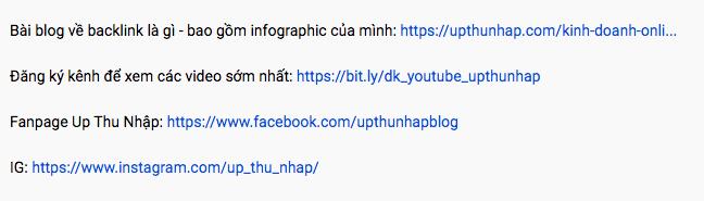 Tăng view youtube - Gắn link