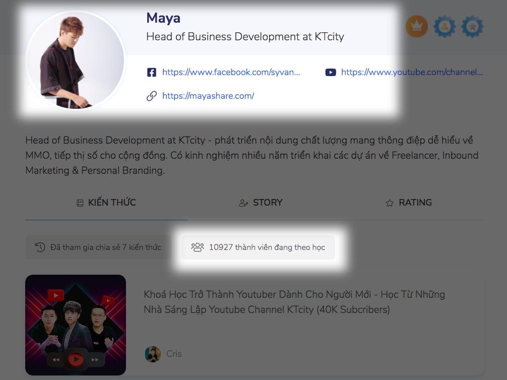 Tăng view youtube - maya