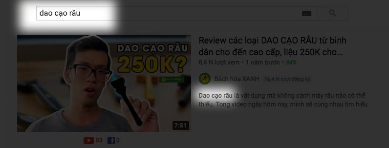 Tăng view youtube - hiển thị