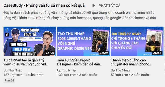 Tăng view youtube - tạo nội dung với người khác