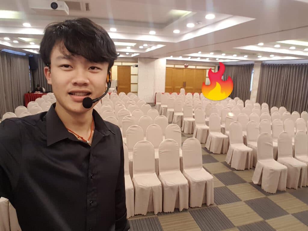 Hồ Lê Thanh Hoàng - hồi làm ads thủ