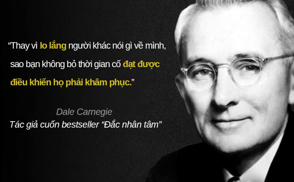 Hồ Lê Thanh Hoàng - châm ngôn Carnegie
